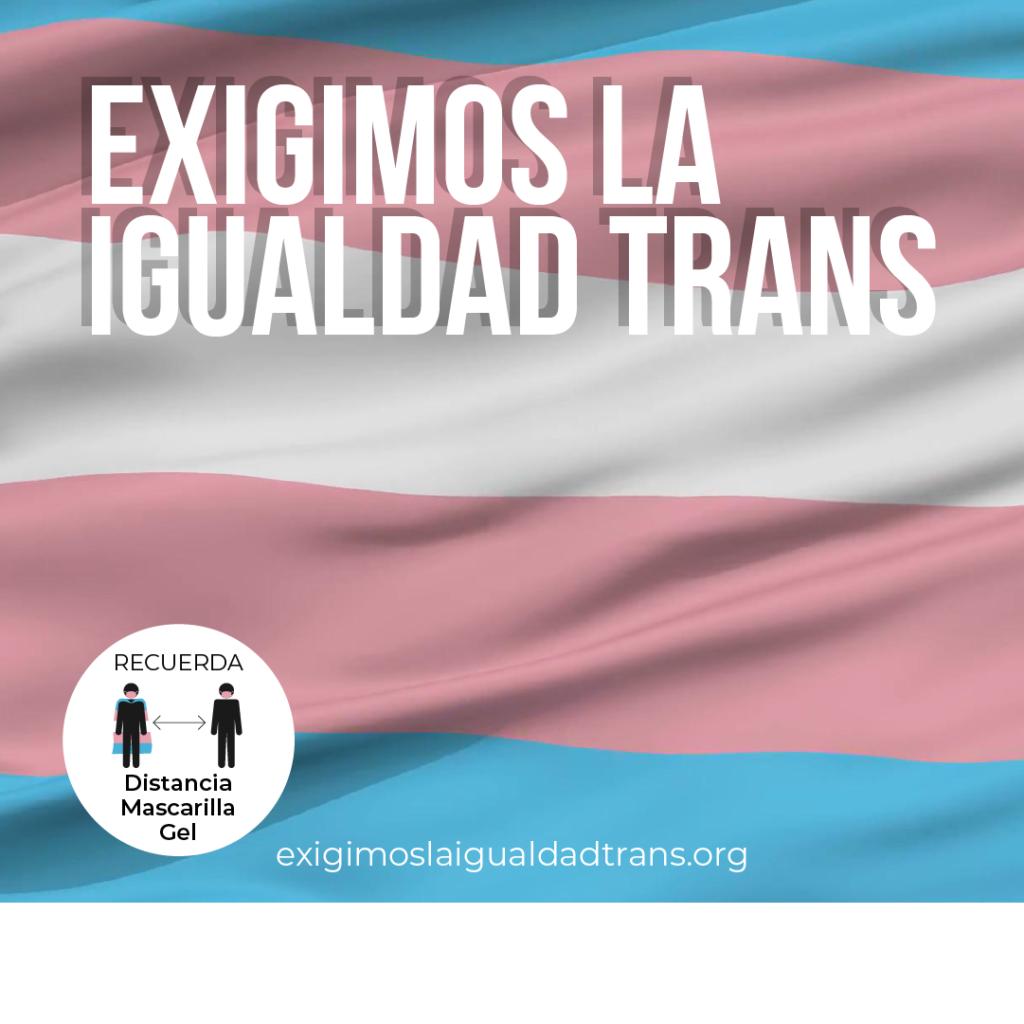 exigimos la igualdad trans